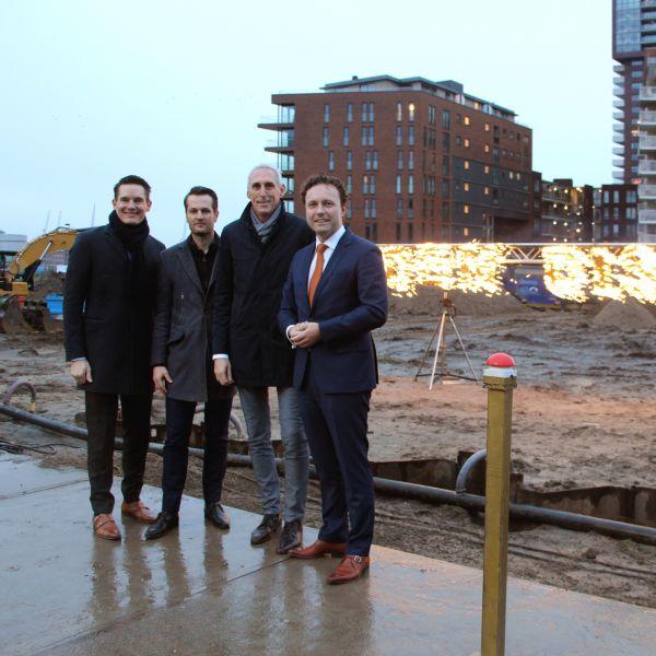 Er wordt weer gebouwd in het Rotterdamse Lloydkwartier