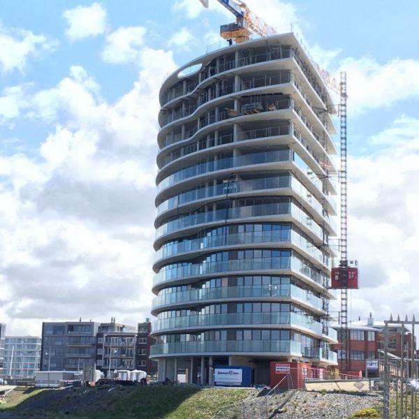 Hoogste punt project Zeezicht gevierd