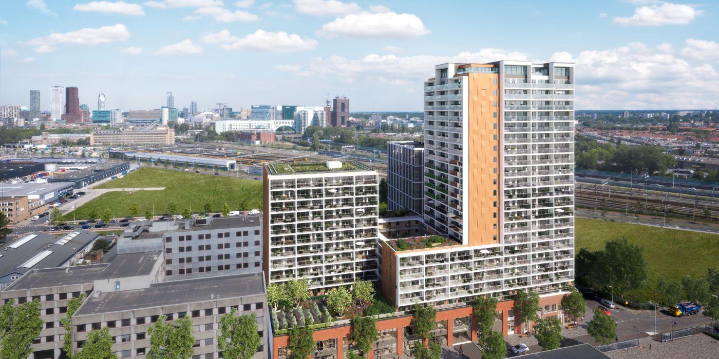 300 sociale huurwoningen in de Binckhorst