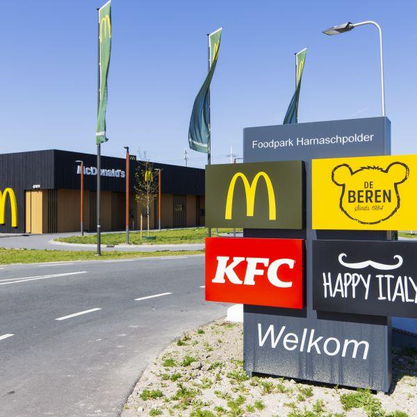 Foodpark Harnaschpolder 100% gereed