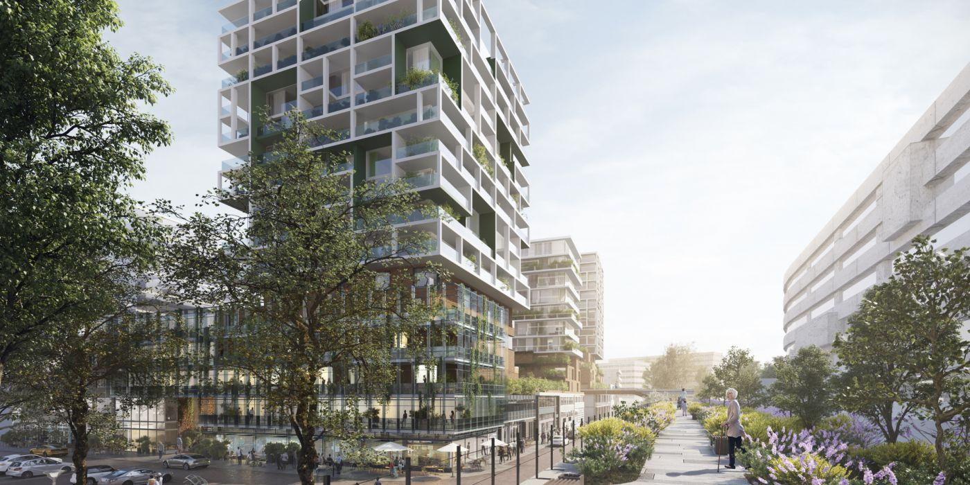 Rotterdams college zet licht op groen voor 600 woningen erbij in Zomerhofkwartier