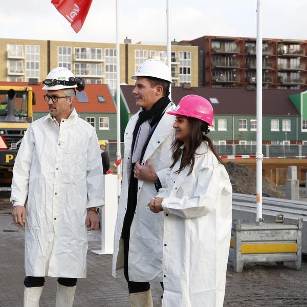 Feestelijke start bouw Burano: 144 nieuwe seniorenwoningen : Feestelijke start bouw Burano: 144 nieuwe seniorenwoningen