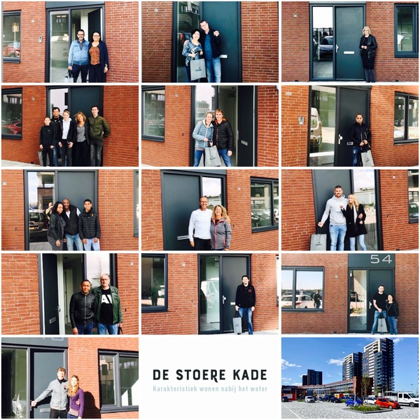 50 stoere nieuwbouwwoningen in Ridderkerk opgeleverd : 50 stoere nieuwbouwwoningen in Ridderkerk opgeleverd