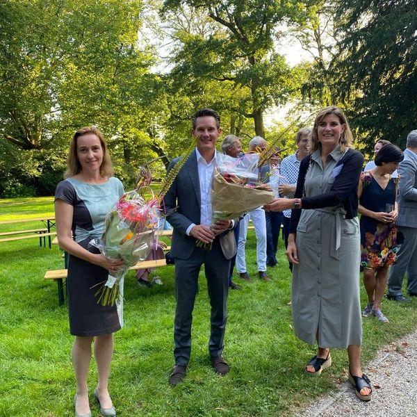 Robert Steenbrugge en Heleen Aarts treden toe tot bestuur NEPROM : Robert Steenbrugge en Heleen Aarts treden toe tot bestuur NEPROM